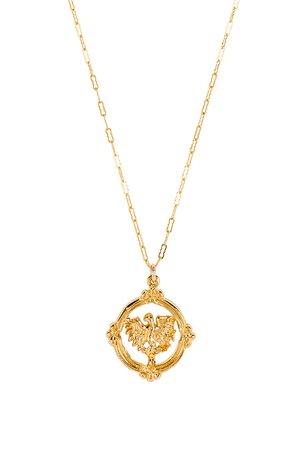 Golden Eagle Necklace