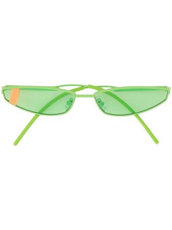 Shop green Gentle Monster Lakers GR1 sunglasses with Express Delivery - Farfetch