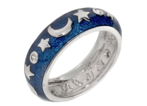 Blue Moon Ring png