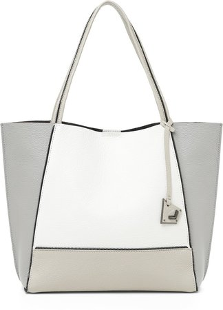 Soho Colorblock Leather Tote