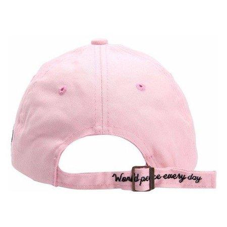 pink cap