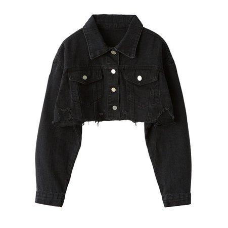 cropped black jacket - Google Search