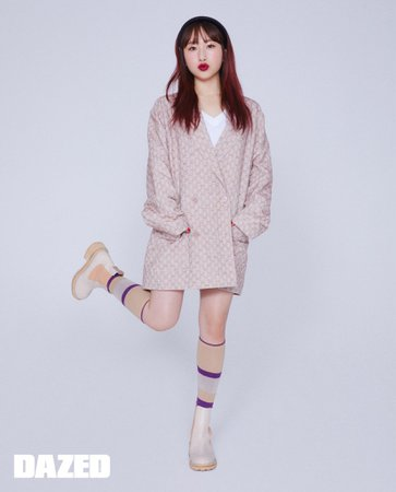 6mix - Dazed Magazine Photoshoot (Sumin)