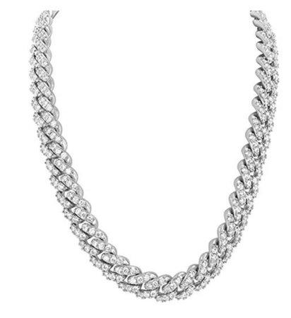 silver Cuban link