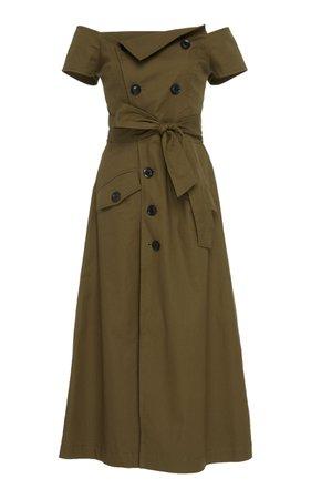 Marissa Webb Jensen Canvas Dress