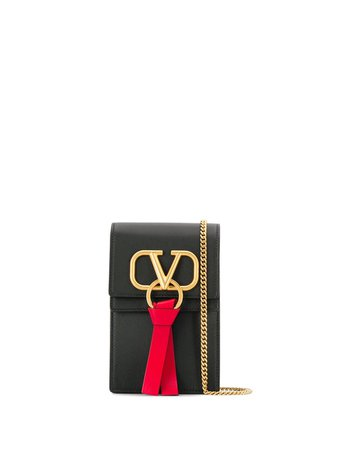 Black Valentino Garavani VRING Mini Bag | Farfetch.com