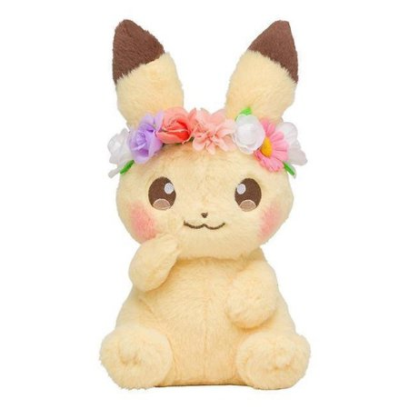 spring pikachu plushies