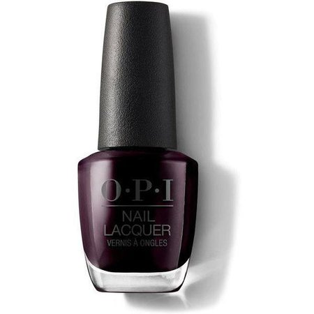 OPI Nail Lacquer - Black Cherry Chutney 0.5 oz - #NLI43 – Beyond Polish