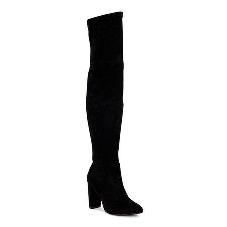 Scoop - Scoop Alexandra Women's Over the Knee Heeled Boots - Walmart.com - Walmart.com