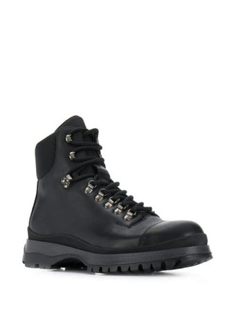 Prada lace-up hiking boots $909 - Buy Online AW19 - Quick Shipping, Price