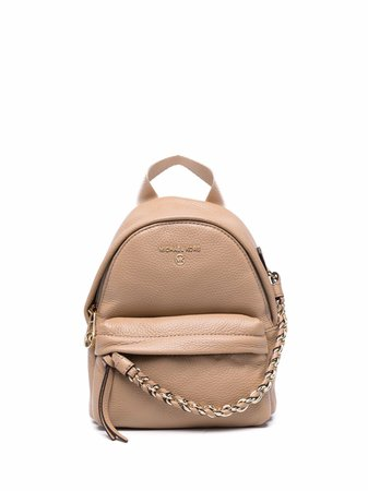 Michael Michael Kors small Slater leather backpack - FARFETCH