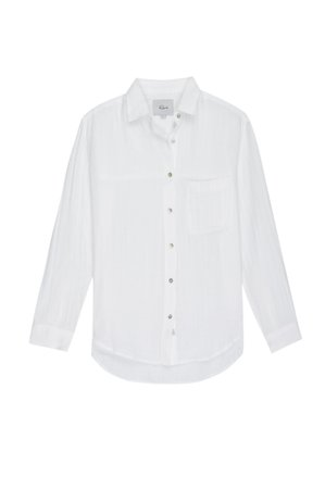 ELLIS Long Sleeve blouse - WHITE | Rails