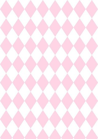 Pink and White Harlequin Background