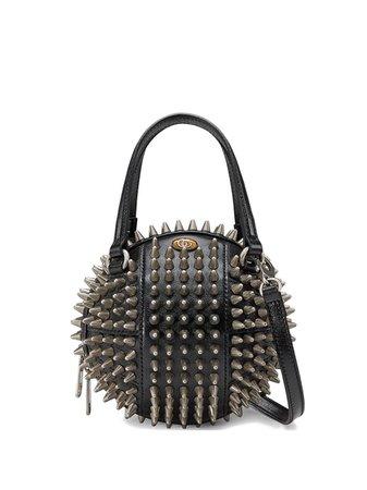 Gucci Basketball Shaped Mini Shoulder Bag 5478550PLXN Black | Farfetch