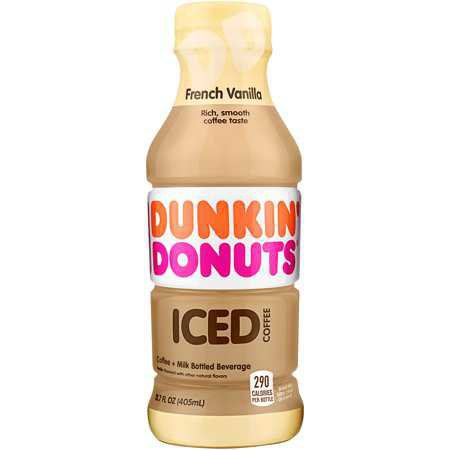 Dunkin Donuts Coffee, French Vanilla, 13.7 Fl Oz, 12 Count - Walmart.com