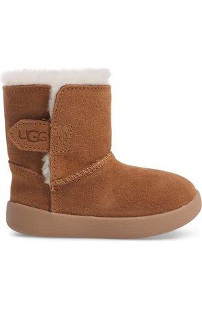 UGG® Keelan Genuine Shearling Baby Boot (Baby & Walker) | Nordstrom