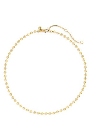 Madewell Ball Chain Necklace | Nordstrom