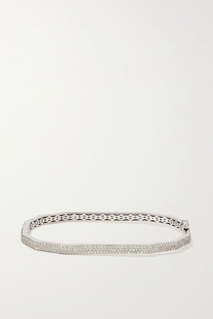 White gold 18-karat white gold diamond bracelet | OFIRA | NET-A-PORTER