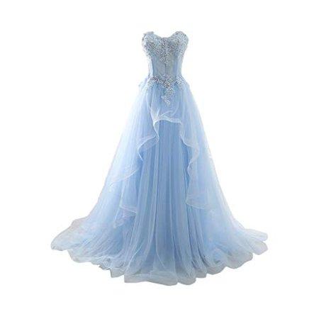 Prom Blue Dress