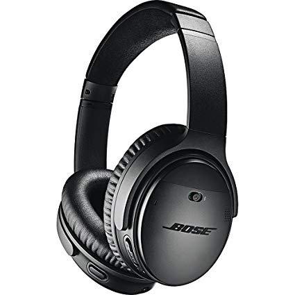 Amazon.com: Bose QuietComfort 35 (Series II) Wireless Headphones, Noise Cancelling, with Alexa voice control - Black: Home Audio & Theater