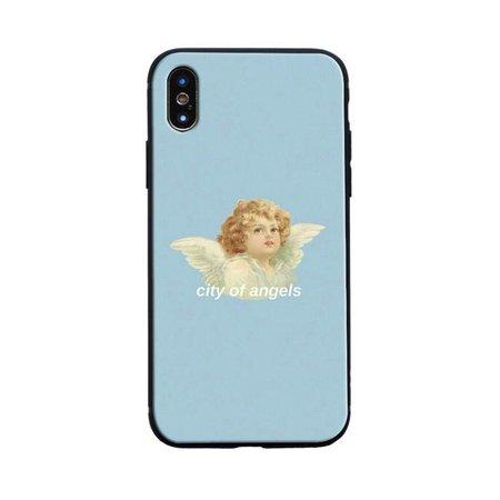 eGirl Angel Print iPhone Case - Shoptery soft girl shop