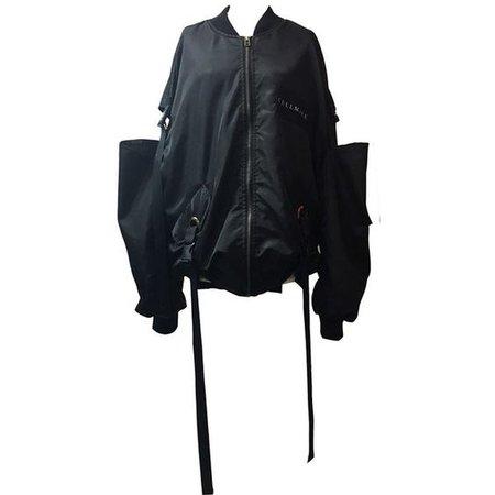 SHOULDER DROP MA-1 -BLACK-