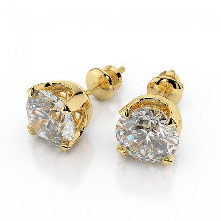 stud gold earrings - Google Search