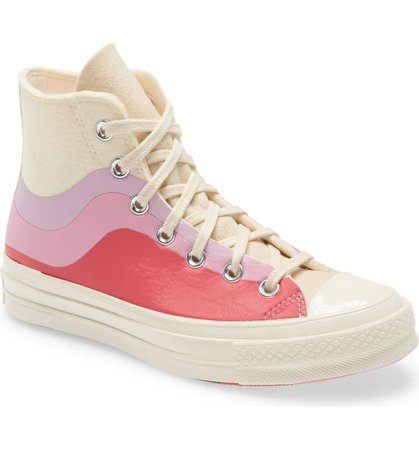 Converse Chuck Taylor® All Star® Chuck 70 Thermo Felt High Top Sneaker (Women) | Nordstrom