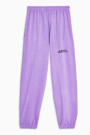Purple Anti-Social Sweatpants | Topshop