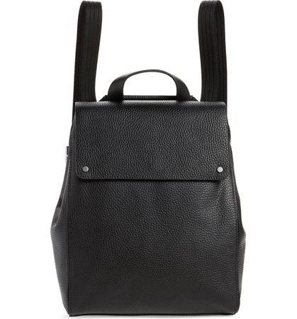 Treasure & Bond Amari Pebbled Leather Backpack | Nordstrom