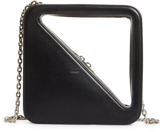 App Leather Shoulder Bag