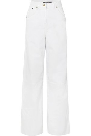 Jacquemus   High-rise wide-leg jeans   NET-A-PORTER.COM
