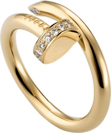 CRB4216900 - Juste un Clou ring - Yellow gold, diamonds - Cartier
