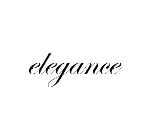 Elegance Text