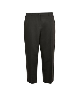 DP Petite Black Elastic Back Ankle Grazer Trousers | Dorothy Perkins
