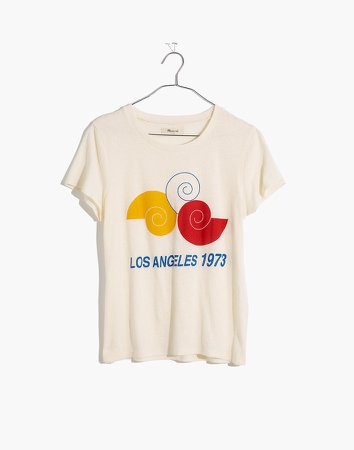 Los Angeles 1973 Graphic Lo-Fi Shrunken Tee