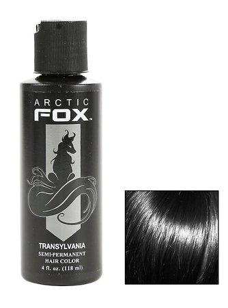Arctic Fox Semi-Permanent Transylvania Black Hair Dye