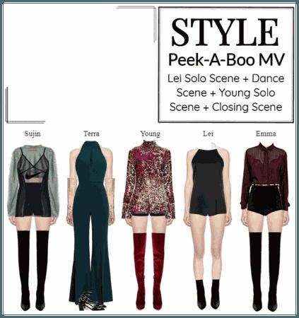 STYLE Peek-A-Boo MV Outfits