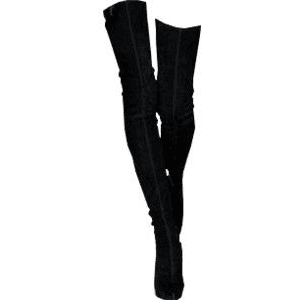 OVER THE KNEE BOOTS PNG