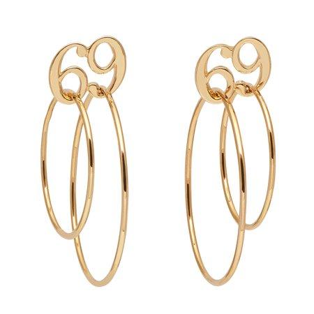 69 Double Circle Earrings • JIWINAIA JEWELLERY