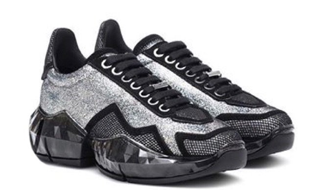 Diamond/F Glitter Sneakers