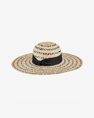 San Diego Hat Company Striped Wheat Straw Sun Hat