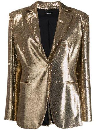 P.A.R.O.S.H. Sequin Blazer - Farfetch $277