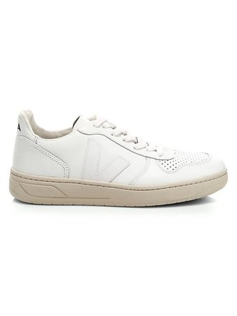 Veja V-10 Leather Low-Top Sneakers   SaksFifthAvenue