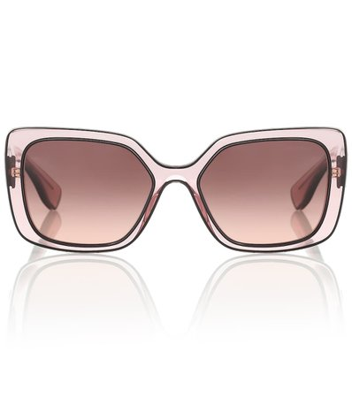 Square Sunglasses | Miu Miu - Mytheresa