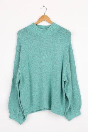 Oversized Sweater - Wool Blend Sweater - Oversized Sweater - Lulus