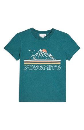 Topshop Yosemite Landscape Graphic Tee | Nordstrom