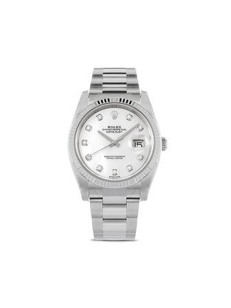 Rolex Montre Oyster Perpetual Datejust 41 Mm - Farfetch