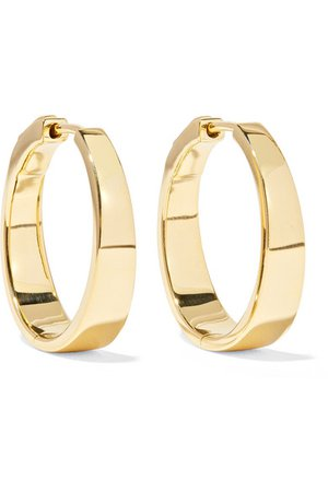 Anita Ko | Meryl 18-karat gold hoop earrings | NET-A-PORTER.COM