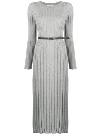 Fabiana Filippi Ribbed Knit Midi Dress - Farfetch